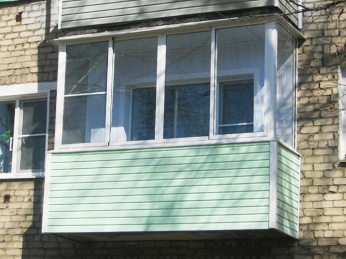 Остекление балконов и лоджий. внутренняя и внешняя отделка о.